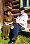 Акинфиево. Разговор с краеведом Егоровым. 2002 г.
