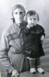 Верхотурье. С бабушкой Екатериной Никоновной Щаповой. 1959 г.