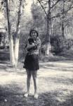 В. Салда. В сквере у дома. 1976 г.
