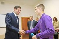 С губернатором