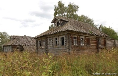 заброшенные дома в центре россии