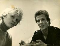 11. Чача с грузинским  однокурсником Геной Семеренко, Свердловск, 1982 г.