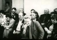 16. Праздник в редакции, Кустанай, 1988 г.