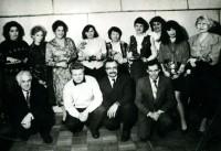 18. 8 Марта в редакции, Кустанай, 1993 г.