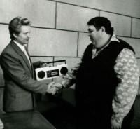 19. Победителю конкурса Парень-отпад, Кустанай, 1993 г.