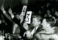 20. В жюри кустанайского КВН, 1995 г.