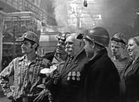 11. Глава династии Прилипских в мартеновском цехе ЧМЗ, 1976 г.