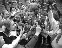32. Поздравление. Преп. биологии Л. Миночкина, сентябрь 1975 г.