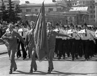 7. На марше трудовые резервы, Челябинск, май 1978 г.