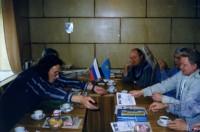 22. Встречаем иностранцев из Кургана, 1996 г.