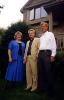 26. С американскими друзьями, г. Шоровью, Миннесота, август 1999 г.