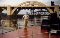 29. На реке Мисисипи, август 1999 г.
