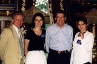 30. С помощником губернатора Миннесоты, август 1999 г.