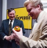 37. Улыбка чемпиона мира по шахматам, май 2001 года, Челябинск