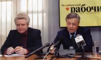 38. С губернатором Челябинской области Петром Суминым, декабрь 2001 года