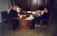 39. С вице-премьером Виктором Христенко, март 2003 года