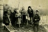 4. Cубботник редакции газеты Сельская новь, апрель 1979 г.
