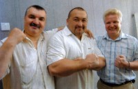 42. Силач Э. Нигматуллин в гостях у ЧР, июль 2006 г.