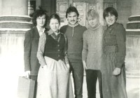 6. Журфак, первый курс, 1980 г.