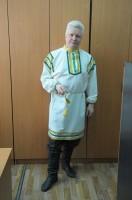64. В русском костюме, май 2011 года