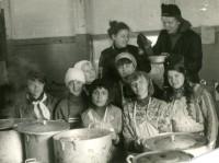 7. Колхозная кухня, сентябрь 1982 г.